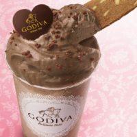 """""""飲むゴディバ""""の進化が止まらない、チョコの泡がのった""""とろける""""デザートドリンク2種を発売。"""