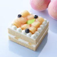 コージーコーナー、ピーチティーみたいなシフォンケーキなど桃づくしのスイーツ3種を発売。