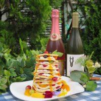 カフェ プランツ、パンケーキ食べ放題&飲み放題ビアテラス「フラワーガーデン」期間限定開催。