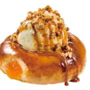 バニラアイスがブリュレドーナツにとろける、クリスピークリームドーナツ期間限定スイーツが登場。