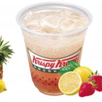 """クリスピークリームドーナツ、トゥルンと口の中で踊る""""トロピカル""""なソーダ2種を発売。"""