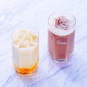 ミスタードーナツ、夏にぴったりの「マンゴーラッシー」「マサラチャイ 豆乳ホイップ」を発売。