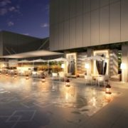 """銀座SIX屋上ガーデンに日本初の""""ヴォーグラウンジ""""、元英国王室シェフ監修のレストランがオープン。"""