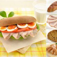 """【糖質制限】糖質ほぼゼロ""""サンドイッチ""""販売開始。特許取得の""""完全小麦ふすま・米ぬか""""パンを採用。"""
