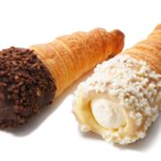 """ディーン&デルーカ、夏にぴったり""""ひんやり""""冷たいクリームが入った「クロワッサンコロネ」を発売。"""