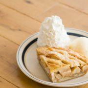エッグスンのパンケーキ生地でつくったアップルパイが初登場、梅田茶屋町店限定でレギュラー販売開始。