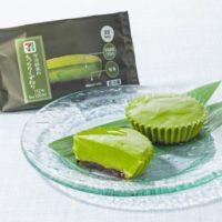 セブン‐イレブン、宇治抹茶をふんだんに使用し濃厚な味わいに仕上げた「宇治抹茶のもっちりくずねり」を発売。
