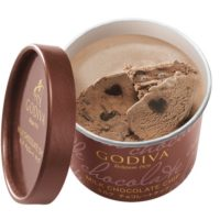 【ゴディバのアイス】ハート型チョコ入り「カップアイス」セブンイレブン限定で2種同時発売。