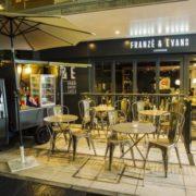 """フランツ・アンド・エヴァンス・ロンドン、屋外でカクテルナイトを楽しむ""""テラスバー""""をスタート。"""