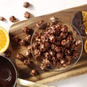 ククルザポップコーンにオレンジピール&チョコ「オランジェット」が新登場。