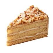 カフェ・ベローチェ、秋の新作ケーキ「キャラメルバナナッツ」を新発売。
