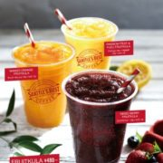 シアトルズベストコーヒー、爽やかな味わいのフローズンドリンク「フルーツクーラ」3種を新発売。
