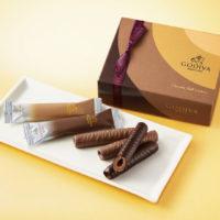 ゴディバ、厳選されたチョコを使った「ショコラロールクッキー」が新登場。