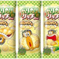 """赤城乳業、まるで""""焼きたて""""ガリガリ君「リッチメロンパン味」が新発売。"""