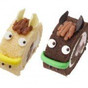 馬スイーツにロールケーキが登場。中山競馬場のUMAJO SPOTにて販売。