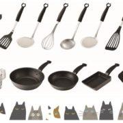 「ねこ」がテーマのキッチン用具「Nyammy(ニャミー)」に全14種の新作が登場。