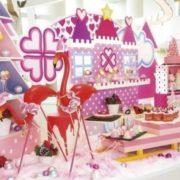 ヒルトン東京ベイのX'masデザートブッフェはピンク一色インスタ映え間違いなし。
