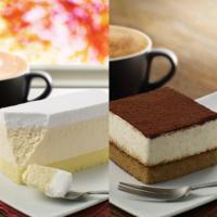 マックカフェに新レギュラー「レアチーズケーキ」と「ティラミス」が登場。