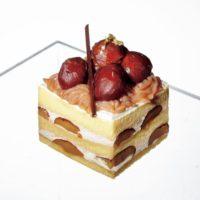 """栗が""""ゴロゴロ""""秋仕立てのショートケーキが阪急うめだ本店に集結。"""