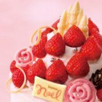 """""""美女と野獣のクリスマス""""がテーマのケーキが「銀のぶどう」から登場。"""