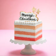 """新宿小田急、""""インスタ映え""""間違いなしのクリスマスケーキの予約受付を開始。"""