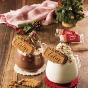 """セガフレード×コーヒーによく合うビスケット「ビスコフ」、 """"クリスマスドリンク""""を期間限定で販売。"""