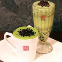 """台湾カフェ""""チュンスイタン""""、宇治抹茶と小豆の贅沢ドリンク『タピオカ抹茶小豆ミルク』が新登場。"""
