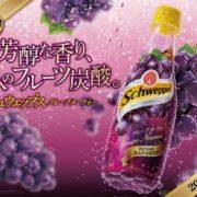 コカ・コーラ、果実感溢れる大人のシュウェップス「グレープヌーヴォー」を発売。