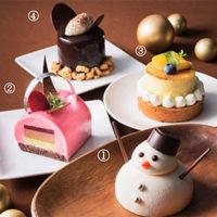 宝塚ホテル、つぶらな瞳の雪だるまなどバラエティ豊かな冬限定スイーツが登場。