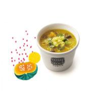 スープストック東京、冬至に向け「かぼちゃと柚子の冬至粥」が登場。