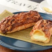 ローソン、ザクッと食感の「クロッカンエクレア」とゴロっとりんごの「アップルタルト」を新発売。