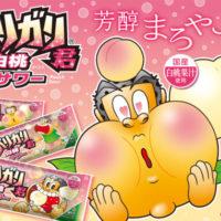 赤城乳業、国産の白桃果汁を使った「ガリガリ君白桃サワー」が新発売。