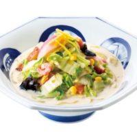 リンガーハット、1日分の野菜が摂れる冬季限定「白菜ちゃんぽん」豆乳仕立てを発売。