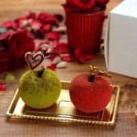 """「原宿りんご」にバレンタイン限定""""チョコムース""""が登場。人気カフェ「Anywhere Door」"""