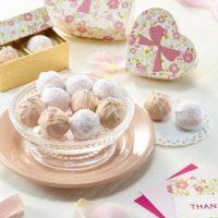 ウェディングケーキメーカーのバレンタインチョコ、ローズの香りが別格。