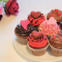 ローラズ・カップケーキ東京、バレンタイン向けカップケーキが登場。