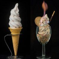 30分溶けないソフトクリームが原宿に誕生、特許成分「イチゴポリフェノール」とは。