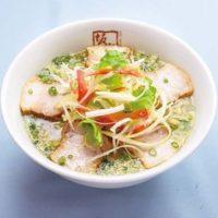 """喜多方ラーメン坂内""""しょうがの効いたとろっとろのスープ""""と9種のどっさり野菜のラーメンを発売。"""