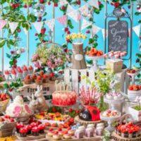 ヒルトン東京お台場、「いちごに恋するガーデンパーティー」~ストロベリーデザートブッフェ~を開催。