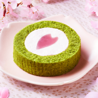 ローソン、春の訪れを感じる「桜と抹茶のロールケーキ~はる・はろう・ろうる~」などを発売。