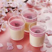パブロ、春の訪れを感じる華やかなチーズプリン「桜」が季節限定で新登場。