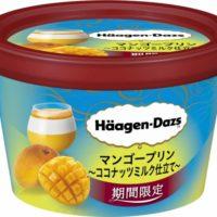 ハーゲンダッツ、ほのかにココナツが香る『マンゴープリン~ココナッツミルク仕立て~』を期間限定で発売。