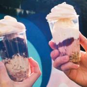 "BAKEがパフェ専門店をオープン、厳選素材の層が織りなす""食べ歩きパフェ""を原宿で展開。"