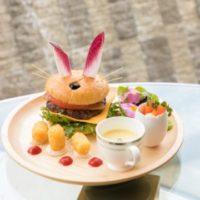 ザ・プリンス パークタワー東京、ウサギ形の「イースター・バニー・バーガー」など期間限定で発売。