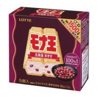 ロッテアイス、北海道産あずきを使用したモナ王の「北海道あずき」味を新発売。