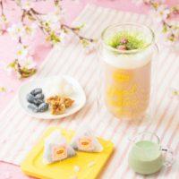 リプトン期間限定ショップが来場者数1万5000人を突破、桜風味のミルクティーを新発売。