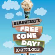ベン&ジェリーズのアイスが無料になる「フリーコーンデー」開催決定。全てのフレーバーから選択可能。