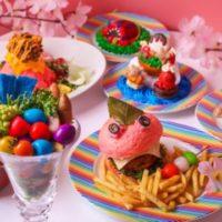 カワイイモンスターカフェ、毒可愛い「春のランチフェア」がスタート。