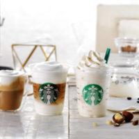 スタバ、白いのにしっかりコーヒー 新作「ムース フォーム」を使ったラテとフラペチーノ®登場。