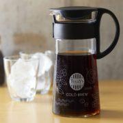 タリーズのコールドブリューを自宅でも、水を注いで置いておくだけで作れる商品を発売。